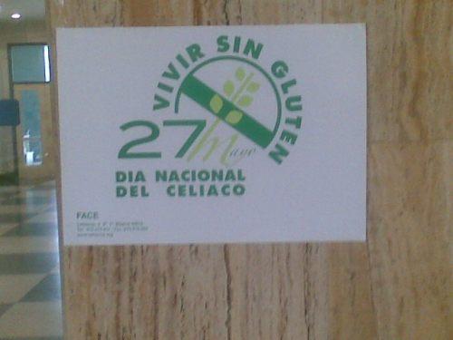 cartel día del celíaco HUCA